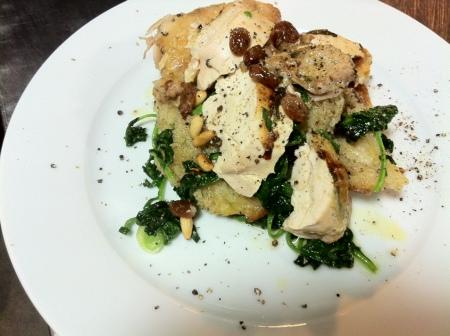 cornish & ekmek salatasi