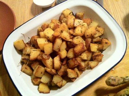 tuba'nin kaz yaginda patatesleri