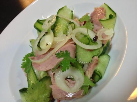 füme ördek salatasi