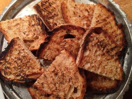 sarimsakli ekmek