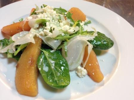 ayvali ispanak salatasi