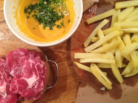 steak frites son hamleye hazir